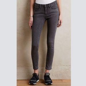 Anthropologie Pilcro Serif Gray Jeans Petite